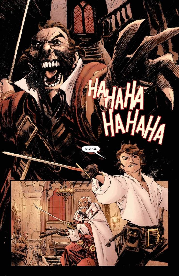 DC Preview: Batman: Curse of the White Knight #1