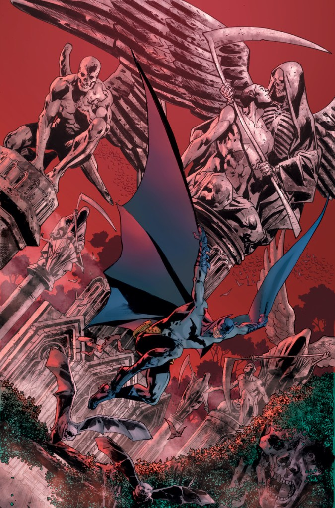 Warren Ellis and Bryan Hitch reunite for new monthly series 'The Batman's Grave'