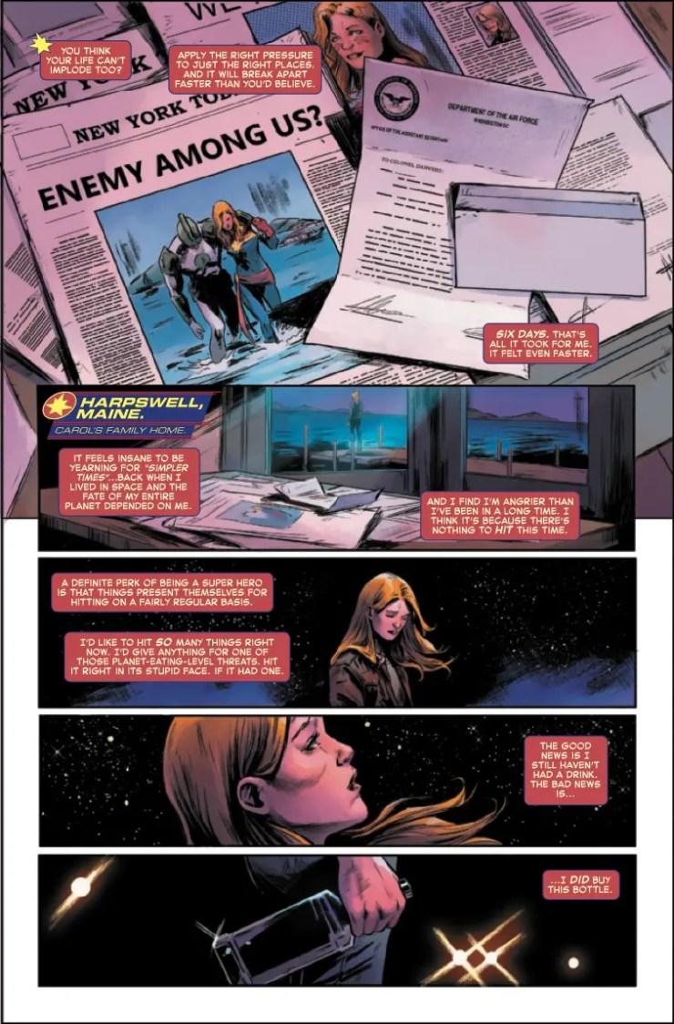 Marvel Preview: Captain Marvel #8
