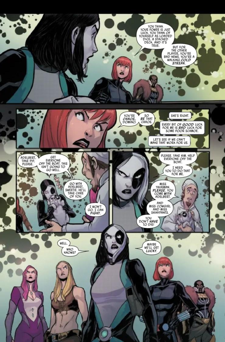 Marvel Preview: Domino: Hotshots #5