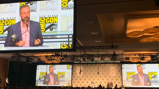 """Chip Zdarsky, author ofPeter Parker: Spectacular Spider-Man,Spider-Man: Life Story,Daredevil, and more has won an Eisner Award for Best Single Issue after being nominated forPeter Parker: Spectacular Spider-Man#310at this year's San Diego Comic Con ceremony. He was nominated alongside Emily Carroll, Jeff Lemire and Emi Lenox, Carolyn Nowak, and Arabson and James Robinson in the category.The issue, which features various talking head takes on Spider-Man from citizens that know and/or have interacted with him was widely considered one of the best last year, including on AiPT!'s very own year end ranking. We also asked Zdarsky about the issue in our recent interview with him for Spectacular Spider-Month where he said: """"The funny thing is, I wrote and drew it as my way of saying goodbye to the character, but here I am on yet another Spidey project AND inserting him into my Daredevil book. Can't shake the guy."""""""