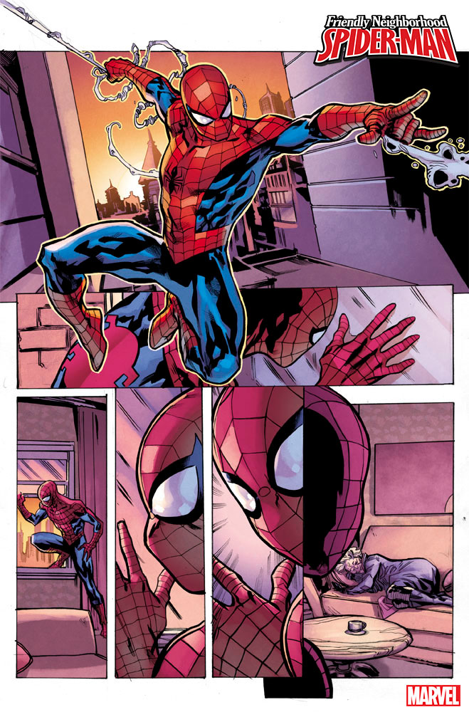 Tom Taylor and Juann Cabal on Friendly Neighborhood Spider-Man, De-aging Peter Parker, finding room for MJ, and more