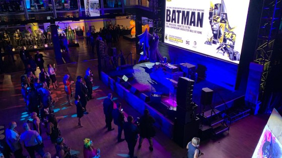 The importance of Batman and why the character matters struck a chord with the Comic-Con audience.