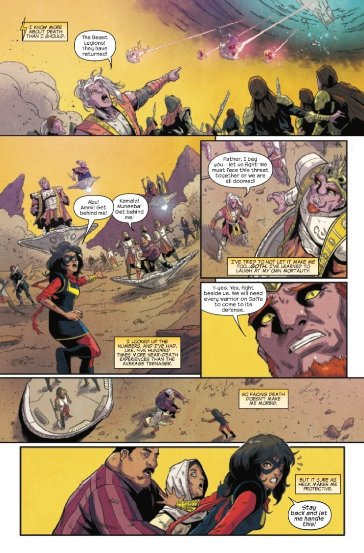 Marvel Preview: Magnificent Ms. Marvel (2019-) #5