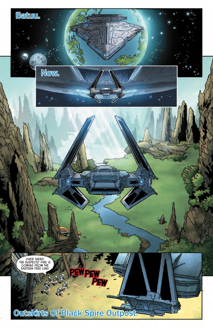 Marvel Preview: Star Wars: Galaxy's Edge #4
