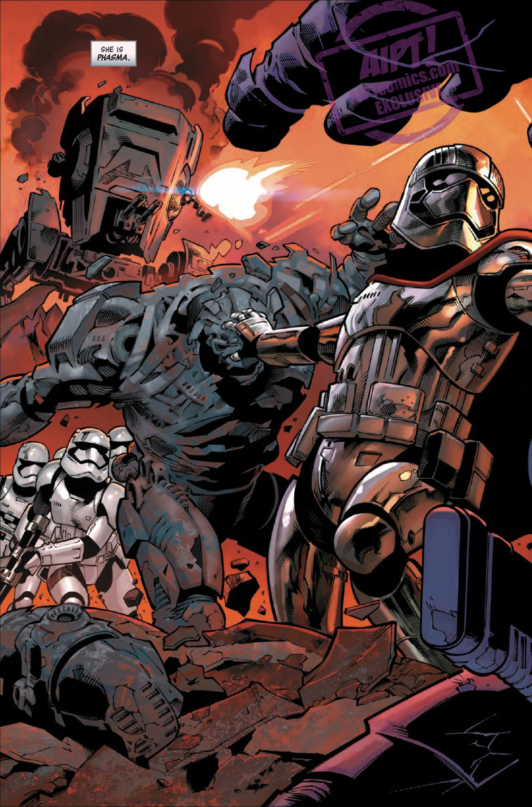 Star Wars: Age of Resistance - Captain Phasma #1 Review