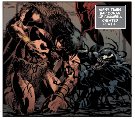 Watch out Eddie, the Symbiote has found a new host in 'Savage Avengers' #3