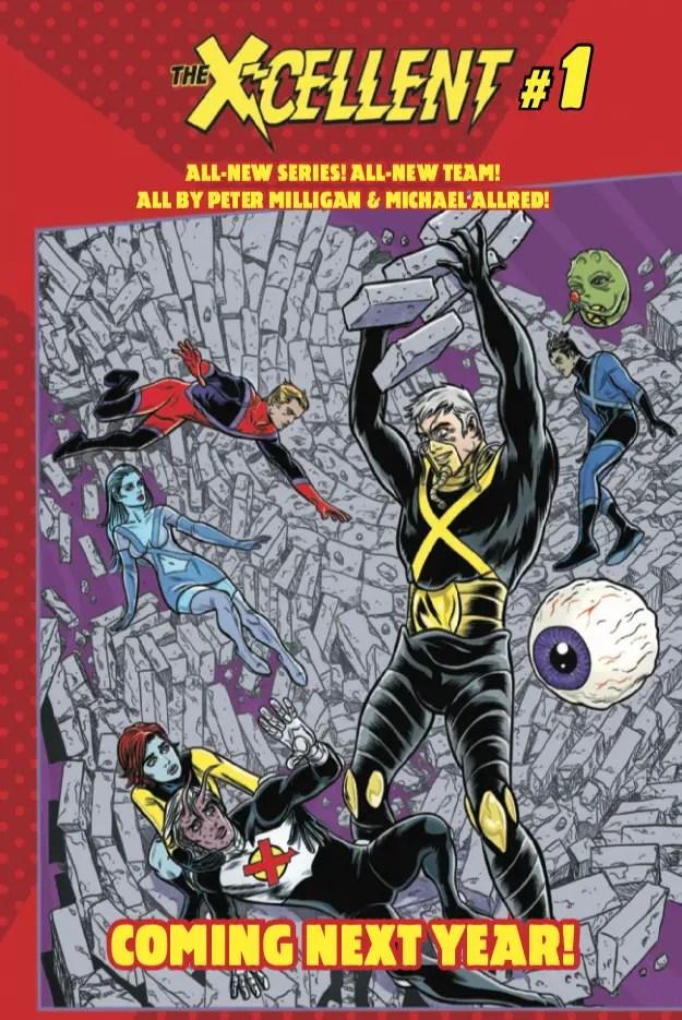 Giant Sized X-Statix #1 reveals a giant-sized new X-Men series next year