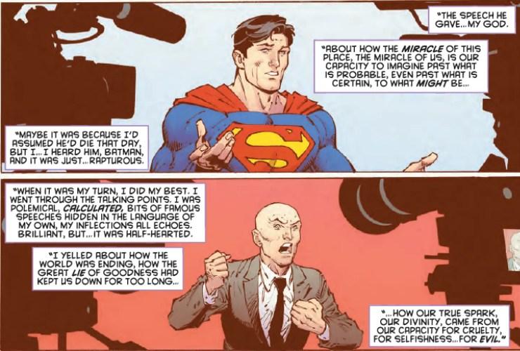 Learn how the greatest superhero/supervillain rivalry ends in 'Batman: Last Knight On Earth' #2
