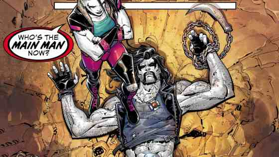 The battle between the Teen Titans and Lobo rages on.