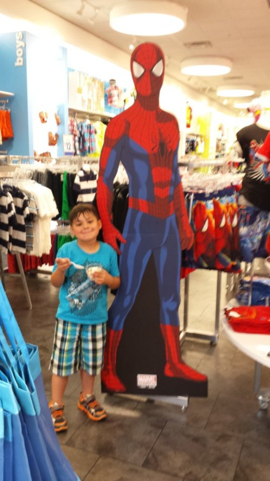 Spider-Man through the eyes of a parent