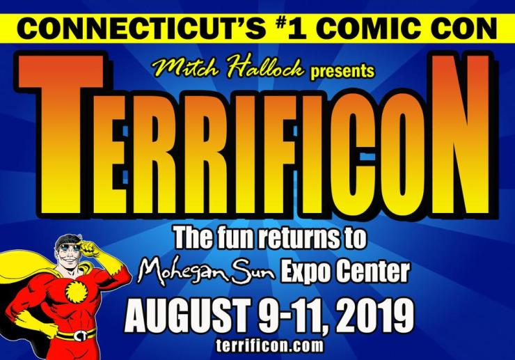 Yesterday and today's comic book stars descend on Connecticut's Terrificon 2019 August 9-11