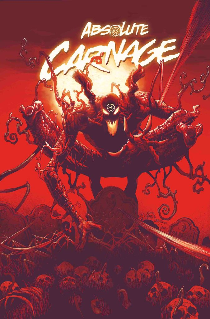"Absolute Carnage #1 variant cover debuts first look at ""Dark Carnage"""