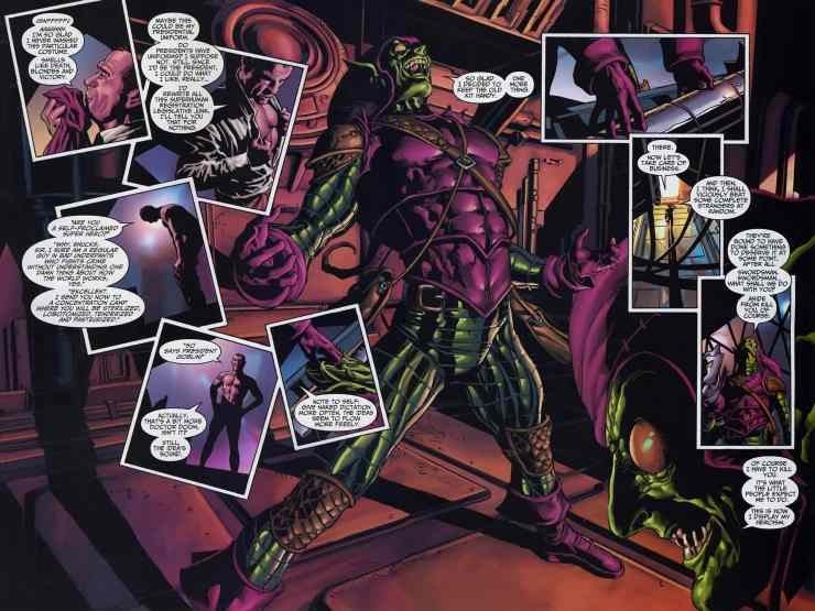 Is Norman Osborn really a psychopath? A psychiatrist looks at the Green Goblin