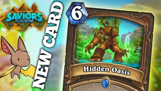 The healing power of Treants looks to squelch aggro decks in this new Saviors of Uldum Druid spell.