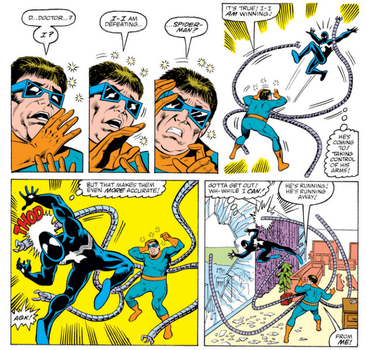 Reality Check:  Could getting beaten by Spider-Man cause arachnophobia in Dr. Octopus?