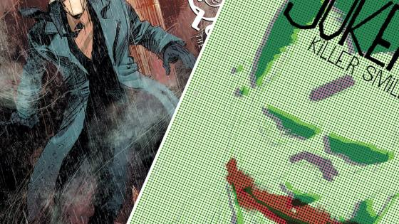 Jeff Lemire shares new details about his upcoming Joker and The Question series with DC Black Label.