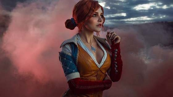 The Witcher: Triss Merigold cosplay by Kalinka Fox