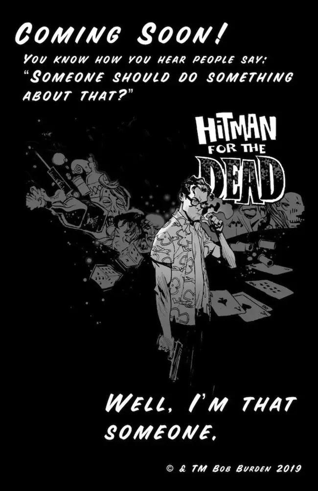 SDCC '19: Dark Horse announces Hitman for the Dead
