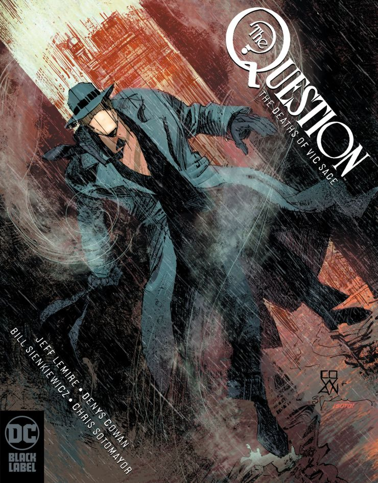 Joker & The Question getting new series on DC Black Label