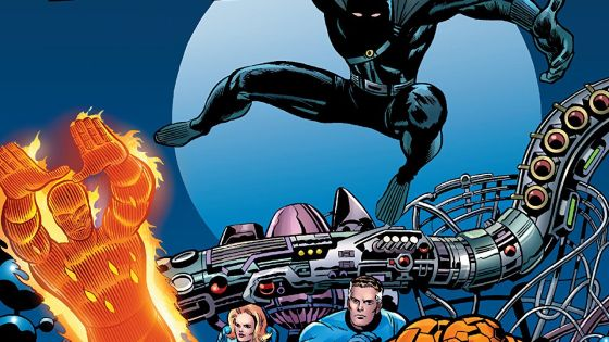 Fantastic Four. The first appearance of Black Panther. Stan Lee and Jack Kirby. 'Nuff said.