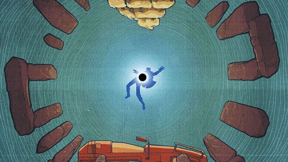 Collapser #2 review: the world turns upside-down