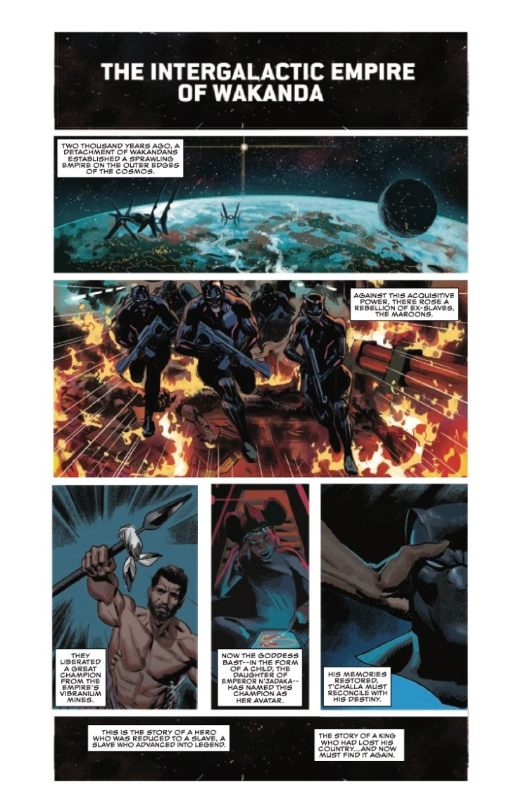 Marvel Preview: Black Panther #15