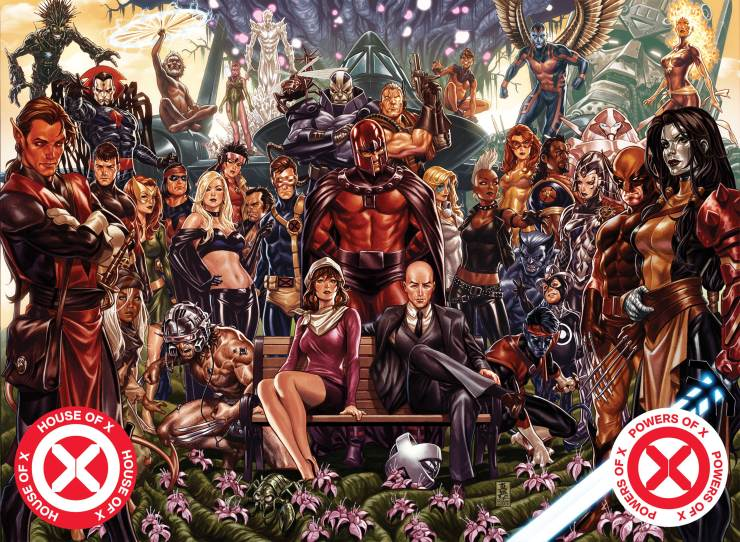 'House of X' and 'Powers of X' getting $50 oversized hardcover collection