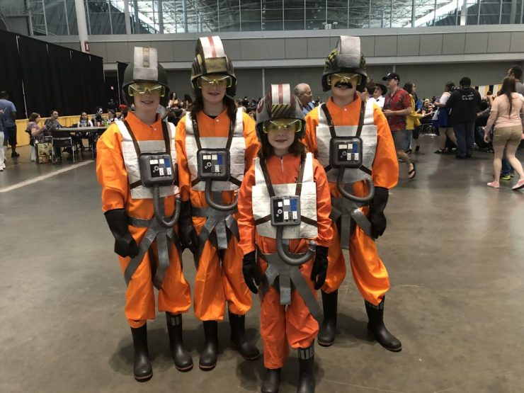 X-Wing pilots, Overwatch heroes and trans-dimensional demons come to Fan Expo Boston.