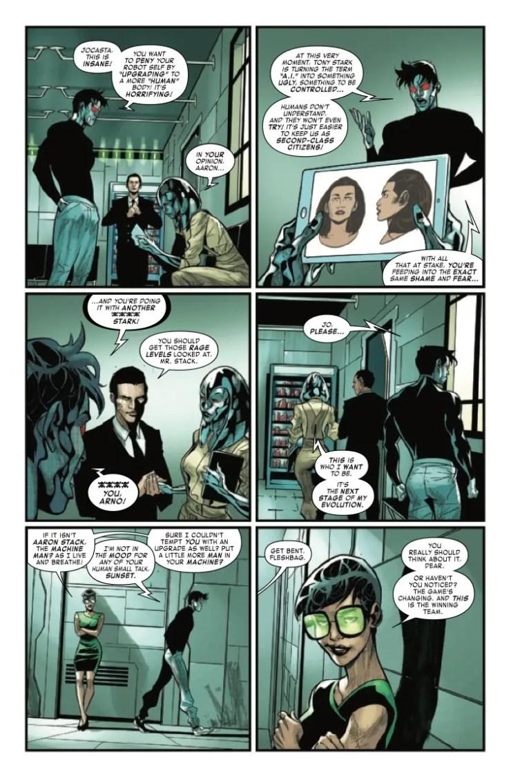 Marvel Preview: Tony Stark: Iron Man #15