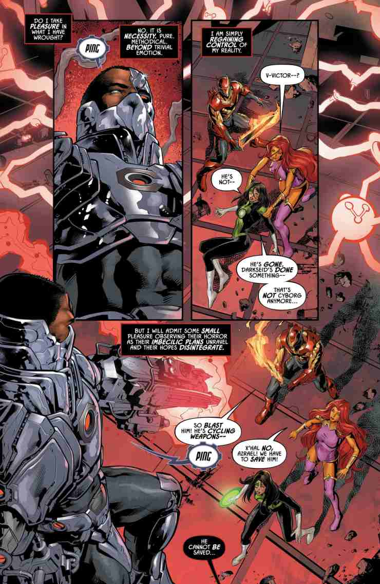 Justice League Odyssey #12 Review