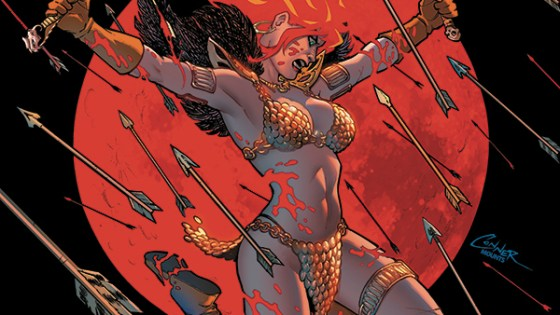 Mark Russell's acclaimed Red Sonja run gets November 2019 release