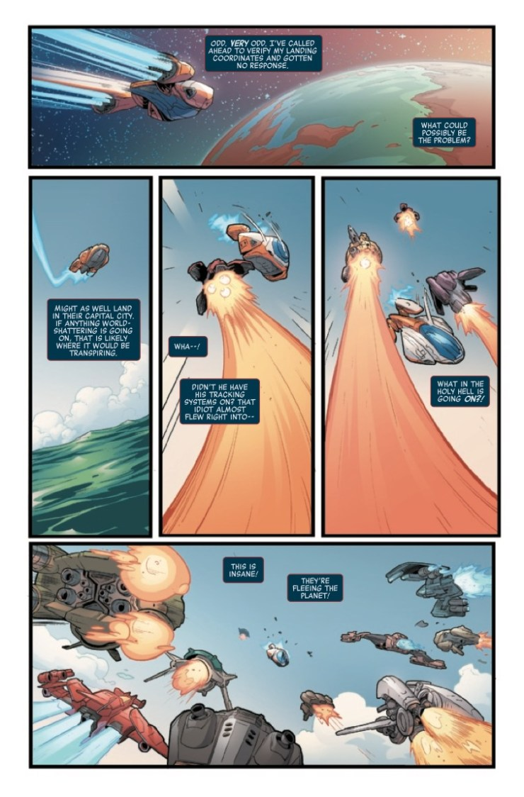 Marvel Preview: Silver Surfer: The Prodigal Sun (2019) #1