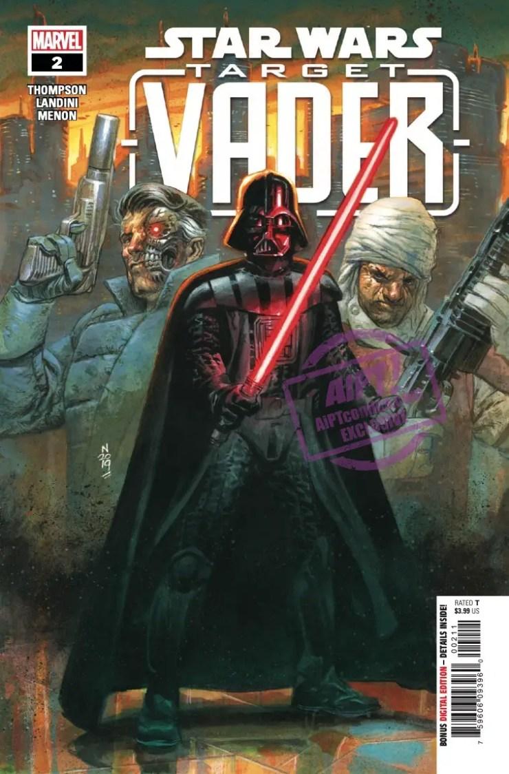 EXCLUSIVE Marvel Preview: Star Wars: Target Vader #2