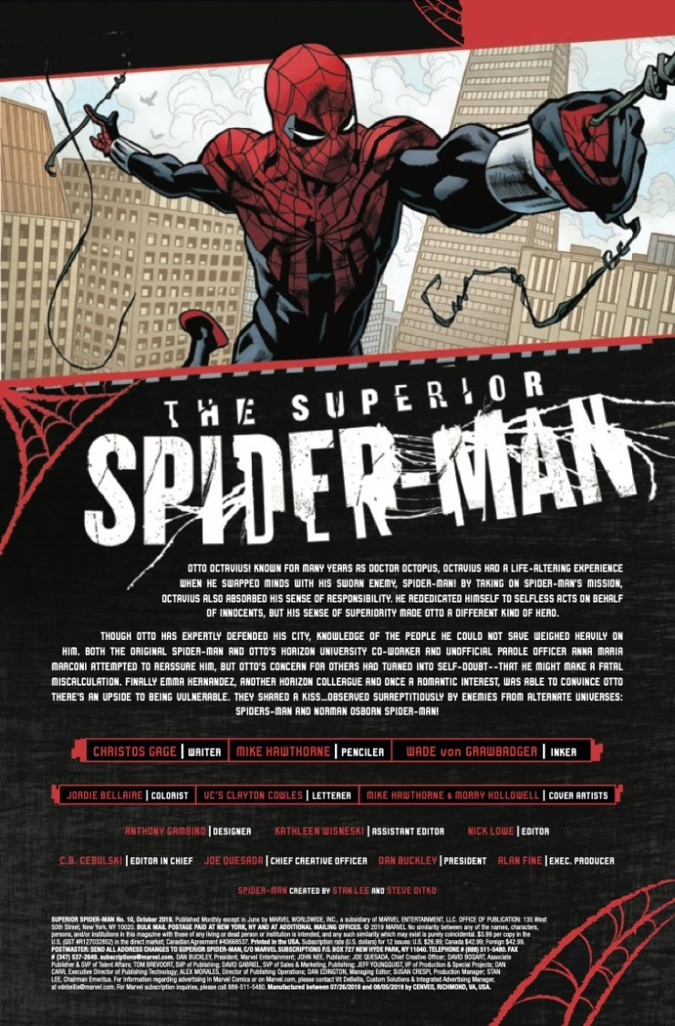 Marvel Preview: The Superior Spider-Man #10
