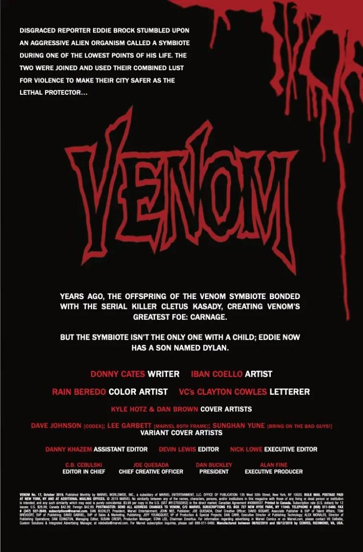 Marvel Preview: Venom #17