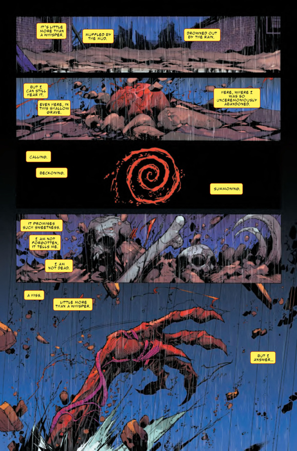 A first issue of an Absolute Carnage tie-in that's nothing to scream, shout, or yelp about.