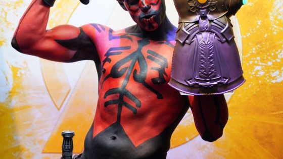 Star Wars: Darth Maul cosplay by Darth Caul