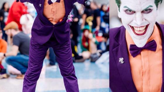 Batman: Joker cosplay by Alejandro Fanzago