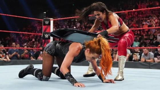 Bayley turns heel, stays aligned with Sasha Banks