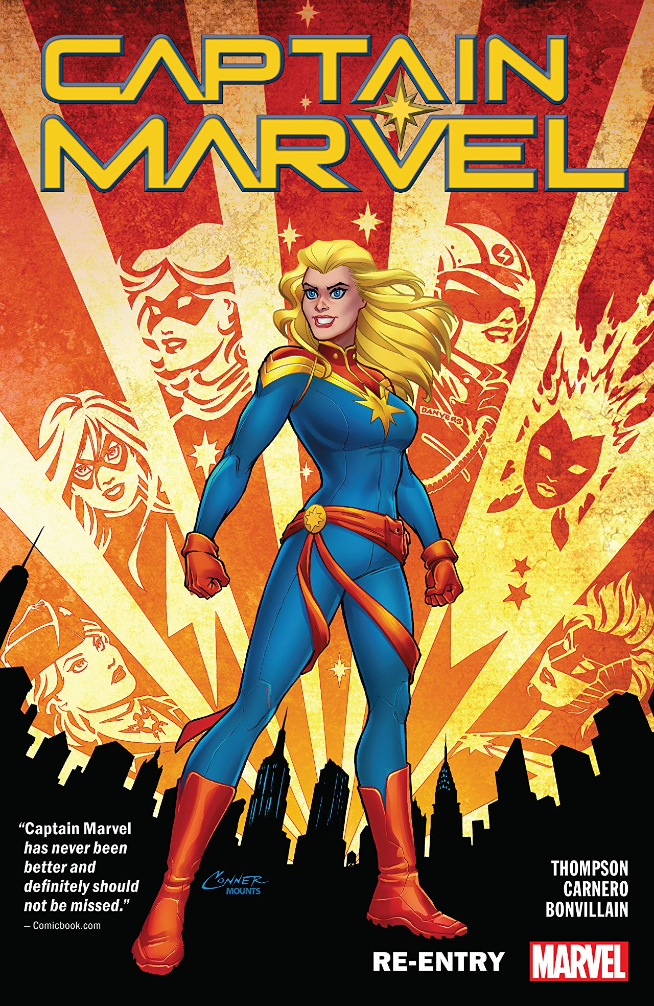 Captain Marvel Vol. 1: Re-Entry TPB Review