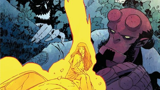 Hellboy and Agent Kinsley delve deeper into the mystery behind a cache of bodies found in the New Hampshire woods.