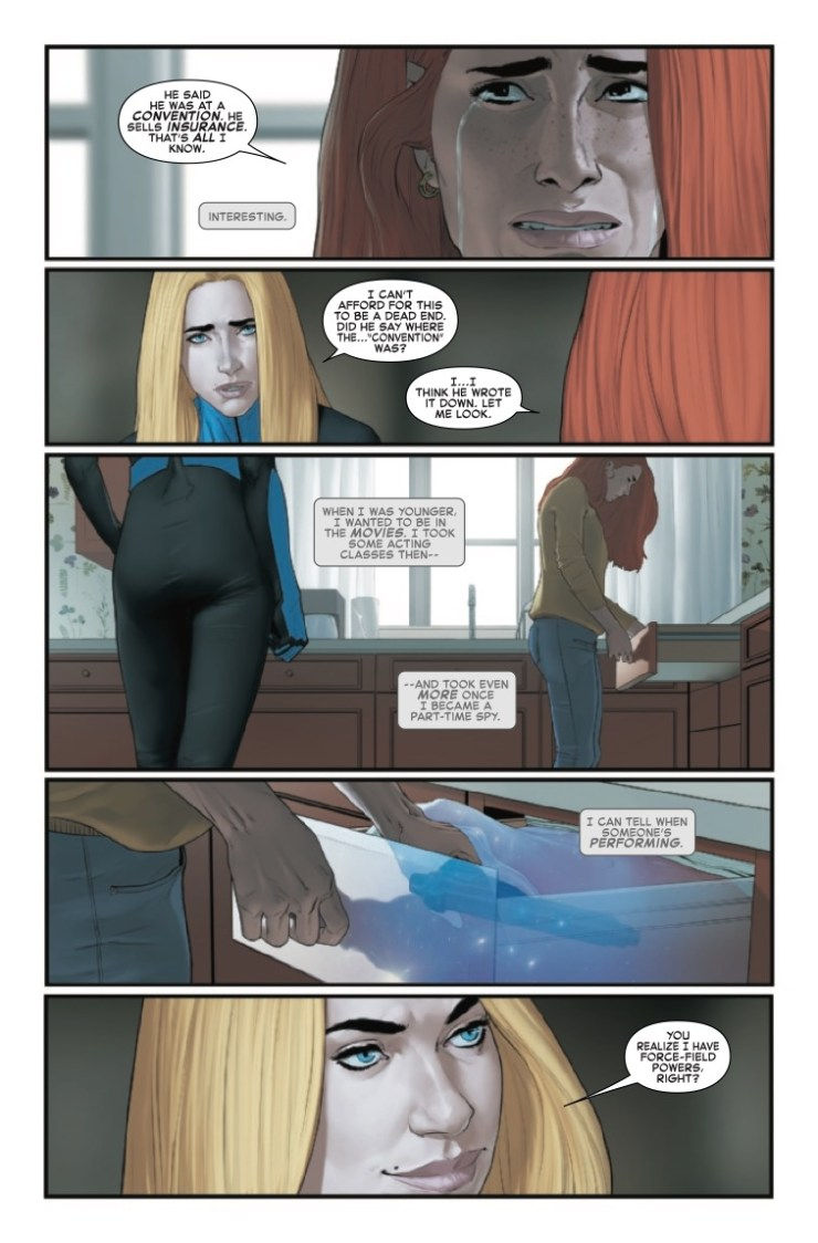 Invisible Woman: Partners in Crime TPB Review