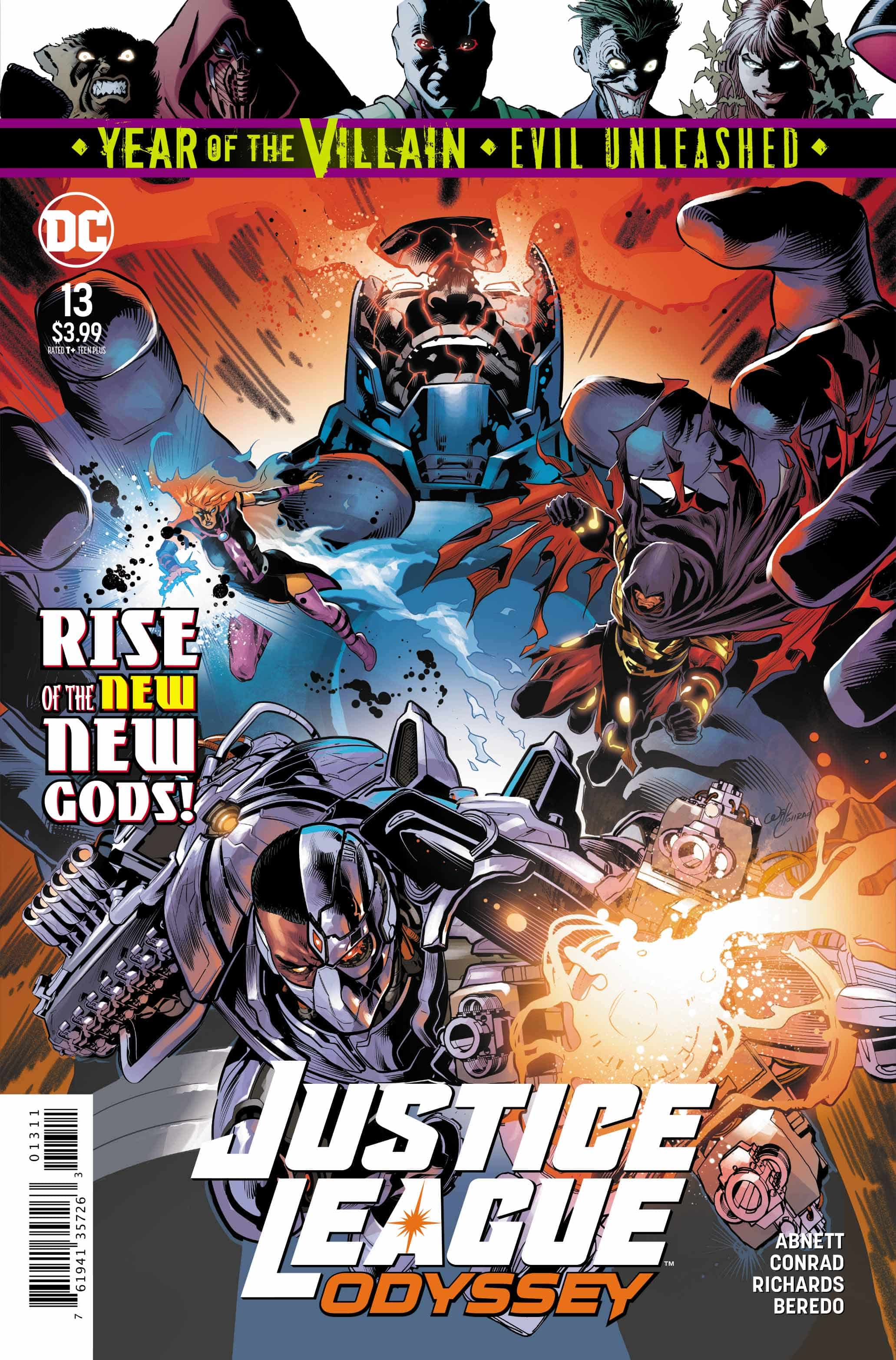 Justice League Odyssey #13 Review
