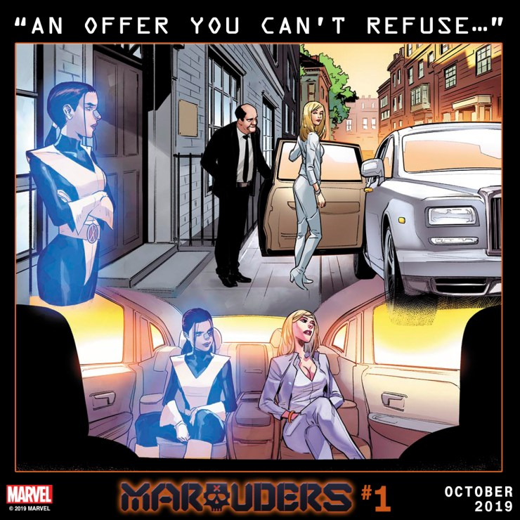 """Marvel Comics teases """"An offer you can't refuse"""" in new Marauders #1 promo"""
