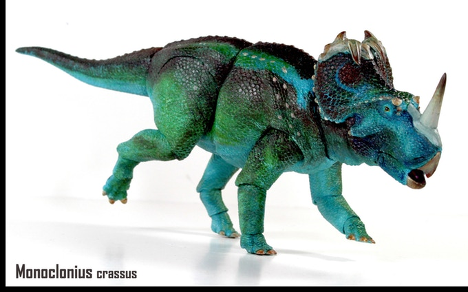 'Beasts of the Mesozoic' toy creator David Silva on his new Ceratopsians Kickstarter