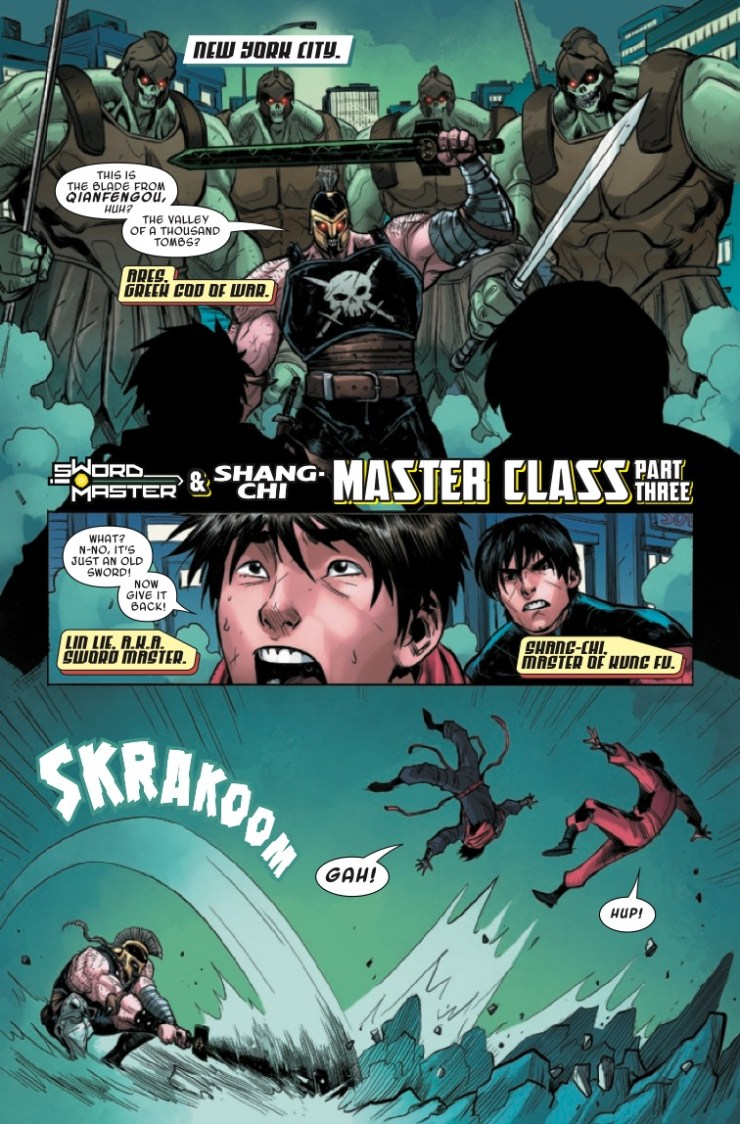 Marvel Preview: Sword Master #3