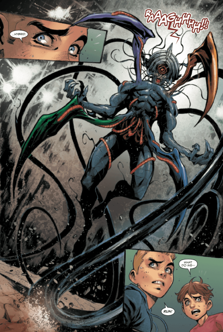 Get a look at the newest Symbiote hybrid in Venom #18
