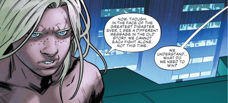 The Justice League got a whole lot more futuristic in 'Justice League' #33