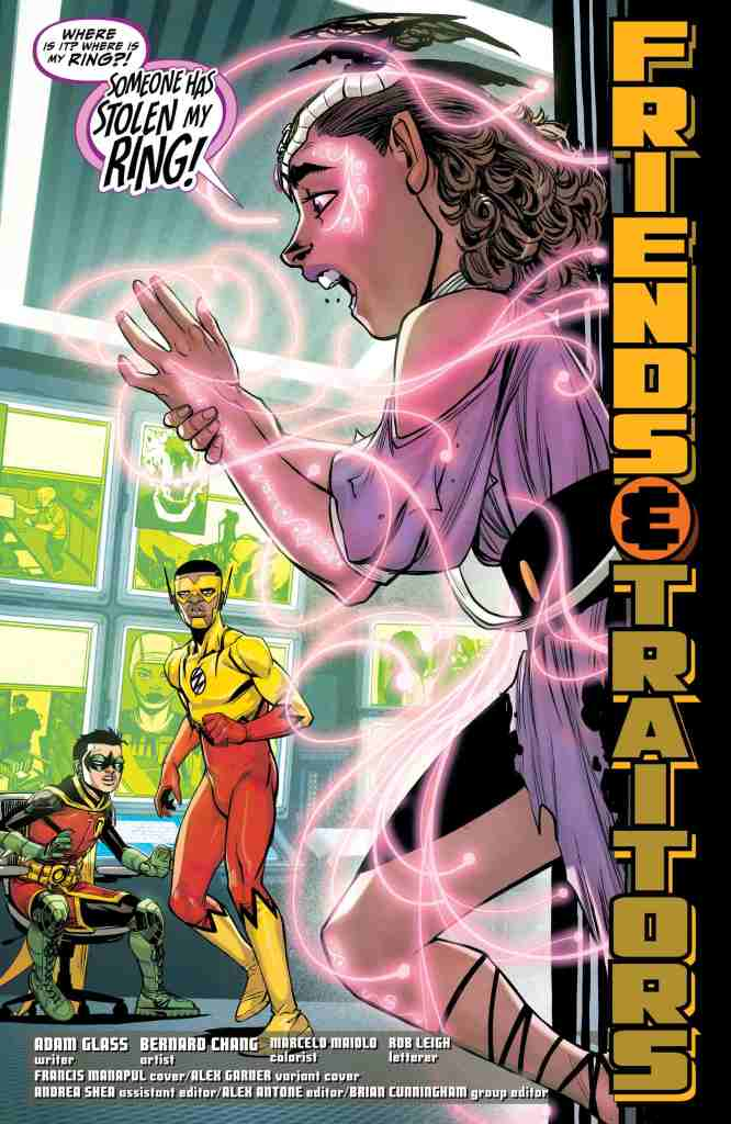 Teen Titans #34 Review